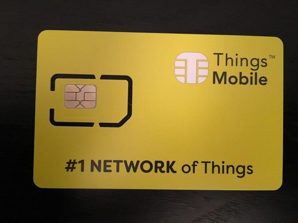 Análisis de la SIM de Things Mobile para IoT